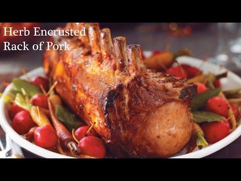 Herb Encrusted Rack Of Pork