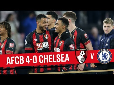 CHERRIES ON FIRE! 🔥   AFC Bournemouth 4-0 Chelsea