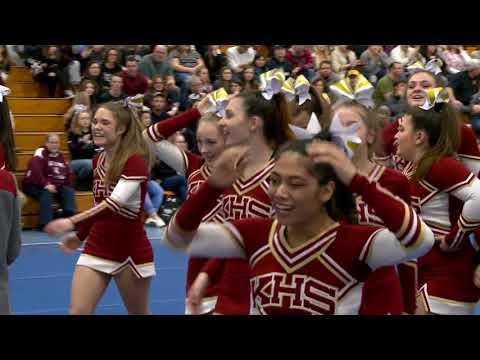 Killingly High School at 2018 ECC Cheerleading Championship