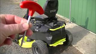 $ .40 CENTS to Cut 1 Acre with my RYOBI Electric RM480E Riding Lawn Mower Part # 2