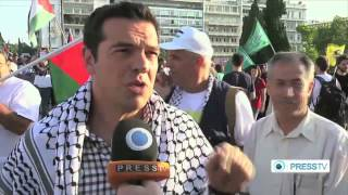 Anti-Israel protest held in Athens