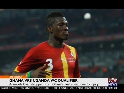 Ghana Vrs Uganda WC Qualifier - Joy Sports Today (3-10-17)