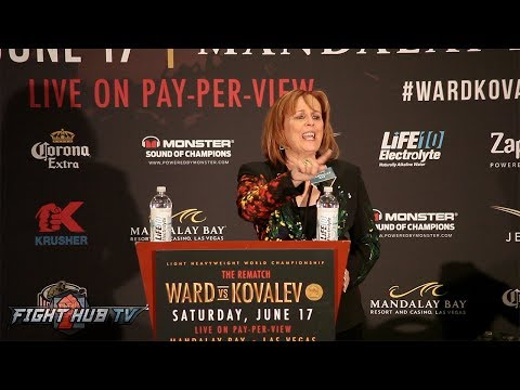 Kathy Duva Explodes! The Full Sergey Kovalev Post Fight Press Conference Video