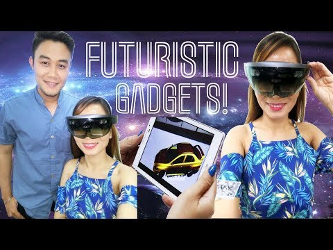 WOW! VIRTUAL REALITY & FUTURISTIC GADGETS Vlog!!
