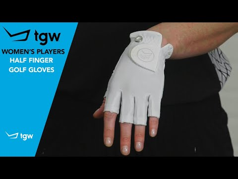TGW Women's Players Half Finger Golf Gloves