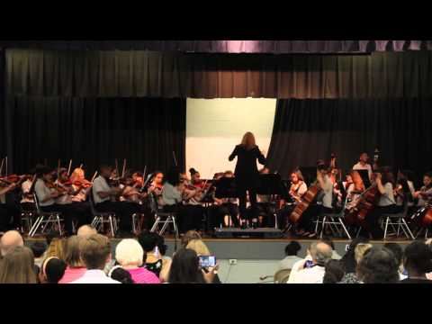 Lake Elkhorn Middle School Symphonic Orchestra - Lady Gaga Fugue