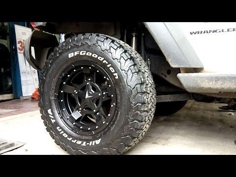 Modifikasi Jeep Rubicon Velg Kmc Rockstar 3 @vipautostyle