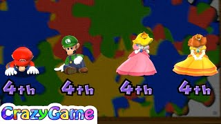 Mario Party 9 All Minigames - Master CPU Play with Wii Remote Vertically | CRAZYGAMINGHUB