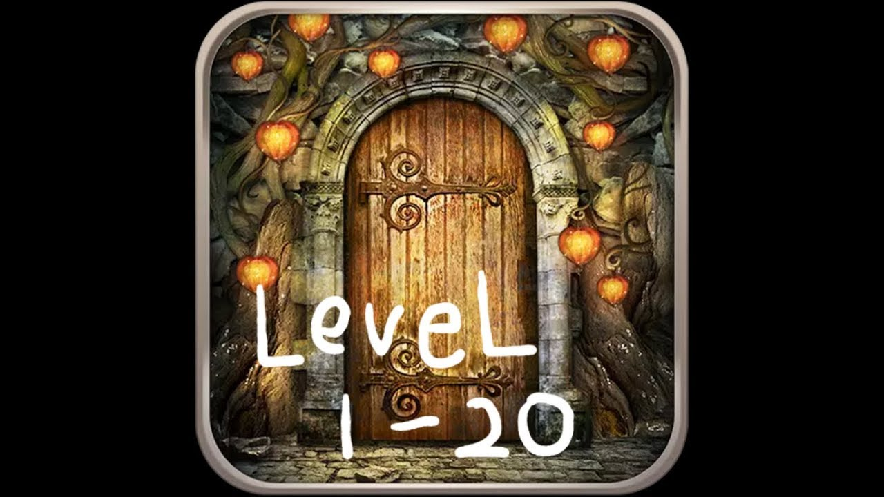 Walkthrough 100 Doors Journey 1 20 Youtube