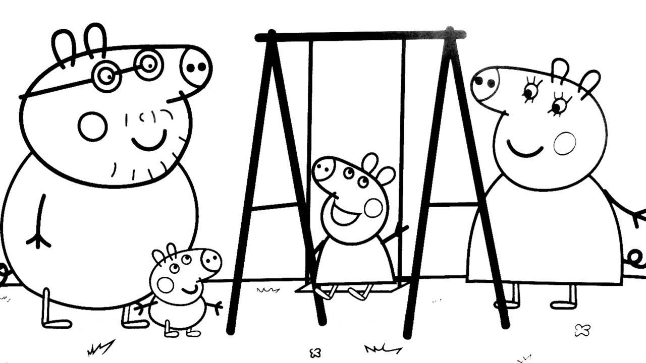 Pintando A Porquinha Peppa Colorir Desenhos Da Porquinha Peppa
