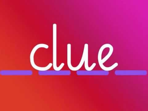 ue  -  Phonics  -  clue, true, blue
