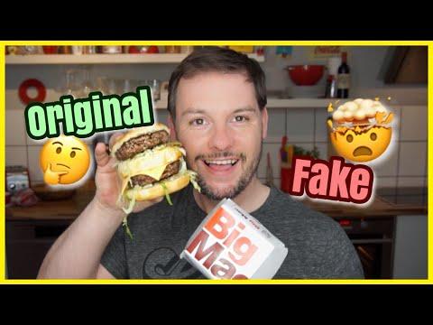 BIG MAC Gekauft vs Selbstgemacht | Foodfight | Florian Mennen