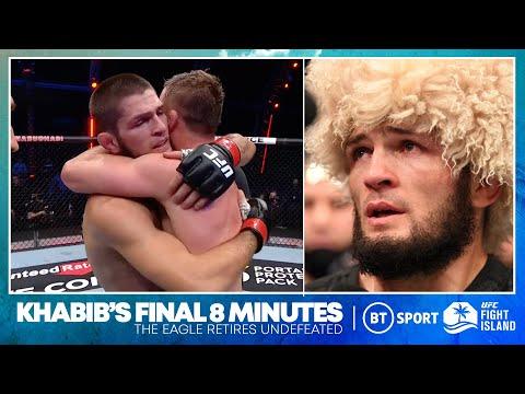 The Final Eight Minutes of Khabib Nurmagomedov's UFC reign!