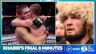 The Final Eight Minutes of Khabib Nurmagomedov's UFC reign!