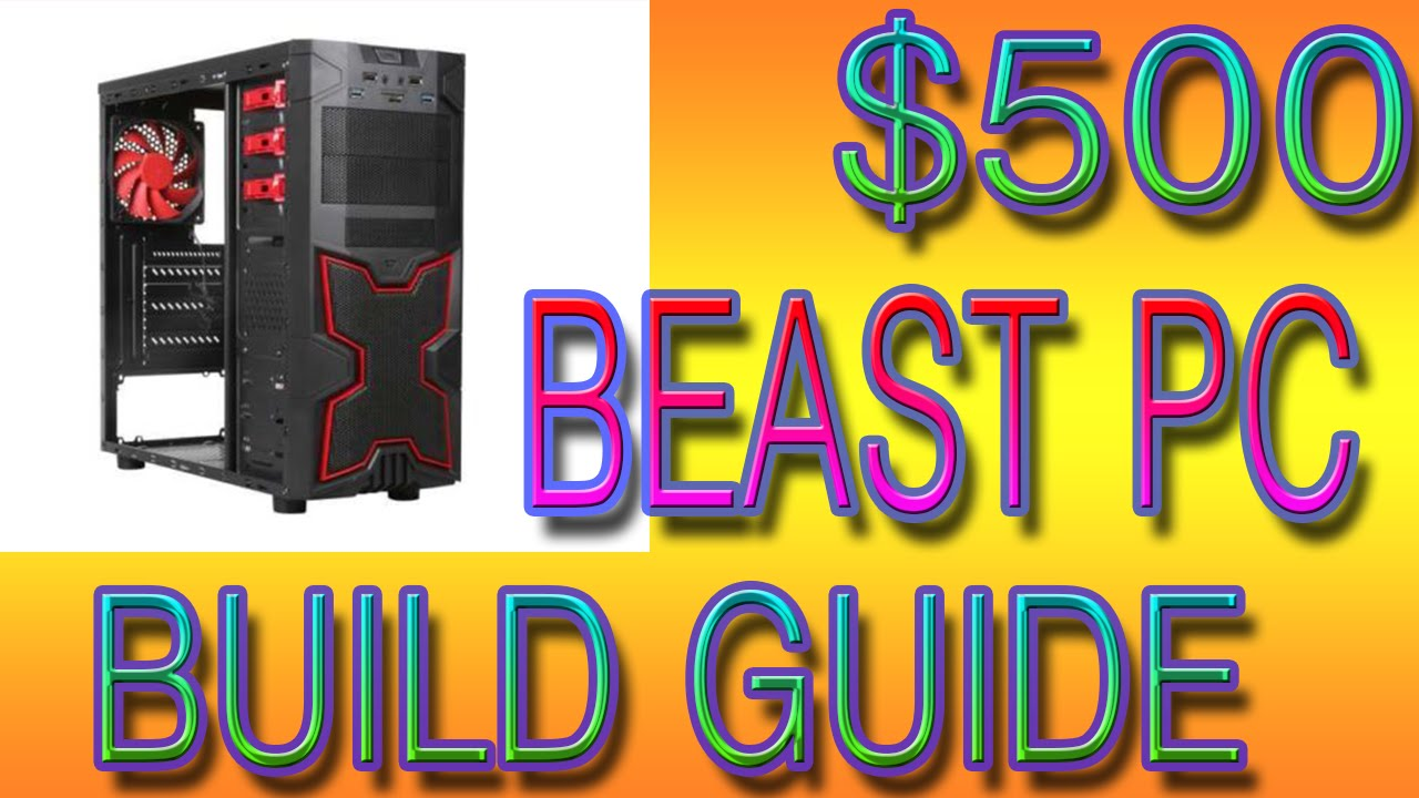 how to build a cheap pc 2015