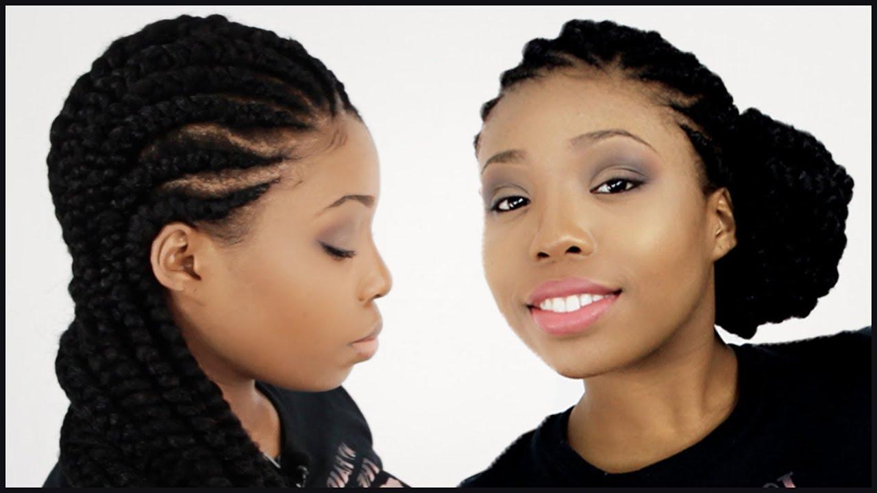 Ghana Braids Full DVD Tutorial - YouTube