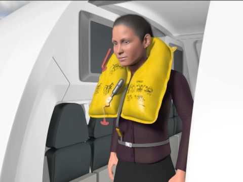 Air Astana Pre-flight Briefing Safety Video