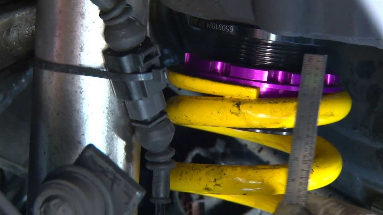How To Adjust A Race Car Suspension