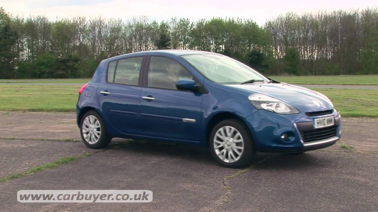 renault clio hatchback 2005 2012 review carbuyer youtube. Black Bedroom Furniture Sets. Home Design Ideas