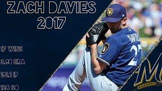 Zach Davies 2017 Highlights