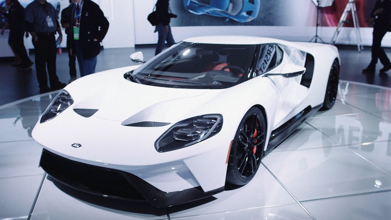 The Ford GT Is Finally Here and It's Glorious - YouTube