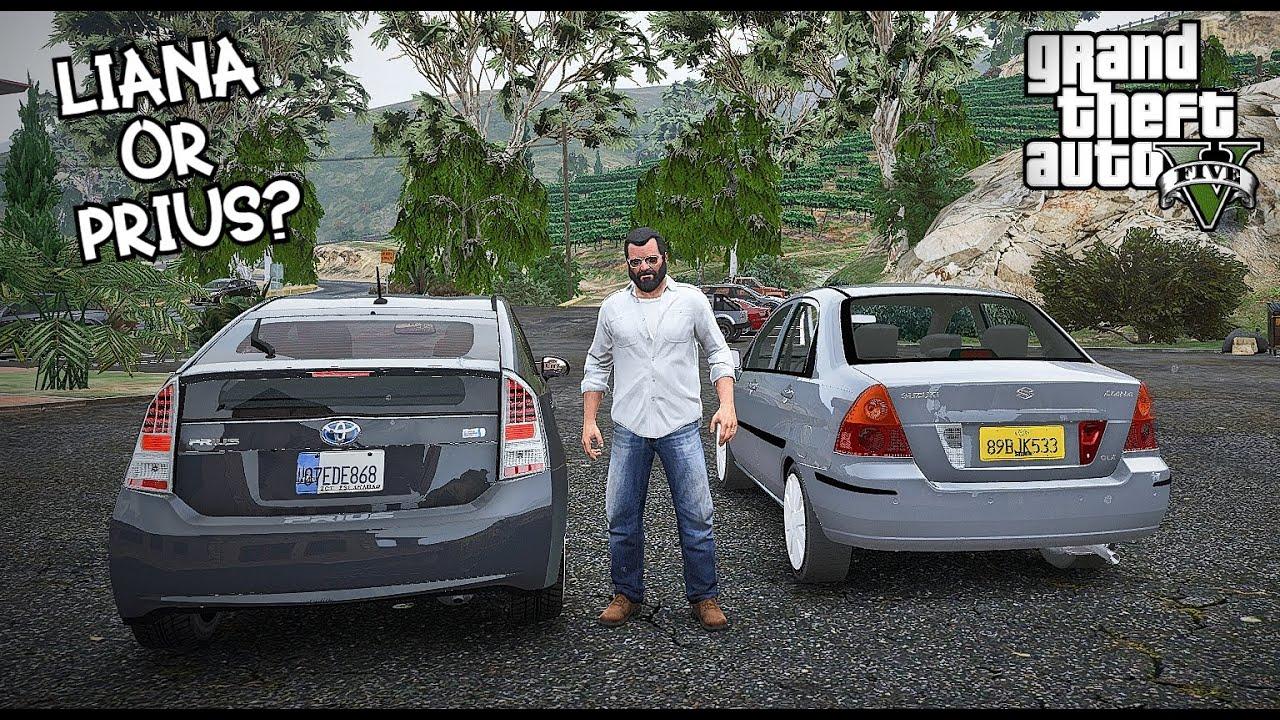 Trik Bagus Gta V Real Life Mods Suzuki Liana Or Toyota Prius Michael Buying Mobil For Jimmy Gta 5 Pakistan Cara Mudah Bulan April 2020 Jazz Indonesia