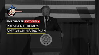 Fact Check: President Trump's tax speech in Indianapolis
