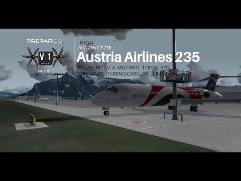 [P3D v3.4] B717-200 | Salzburg  - LOWS→  Turin Int'l  - LIMF