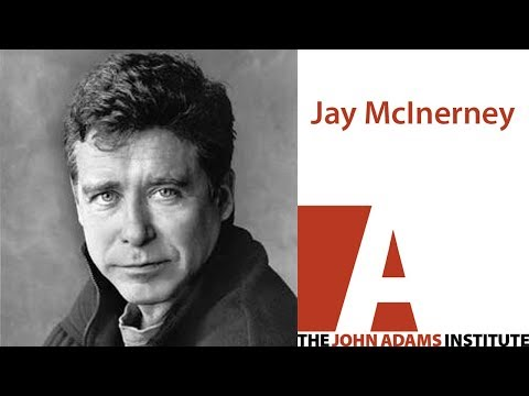 Jay McInerney on Cities - The John Adams Institute
