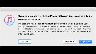 How Restore Or New Software Update  iphone 4   Model. A1332