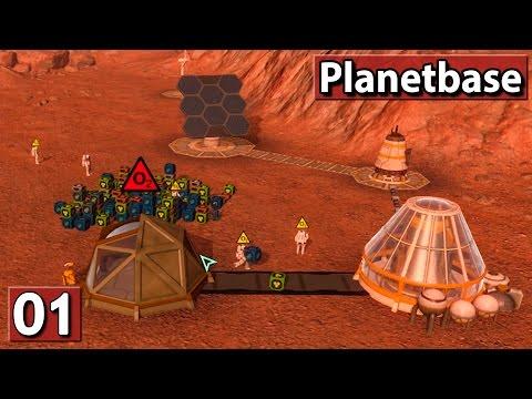 MEINE MARSKOLONIE ► Lets Play Planetbase #1 deutsch