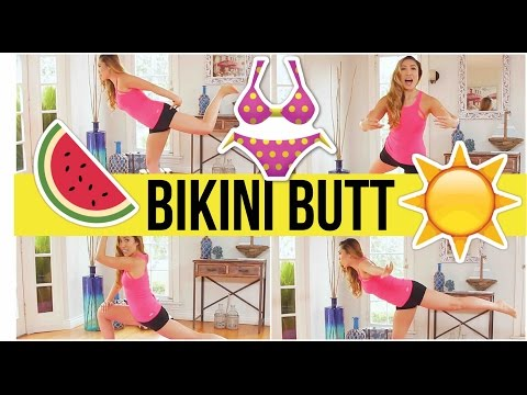 8 min bikini butt workout! Swimsuit Slimdown Series