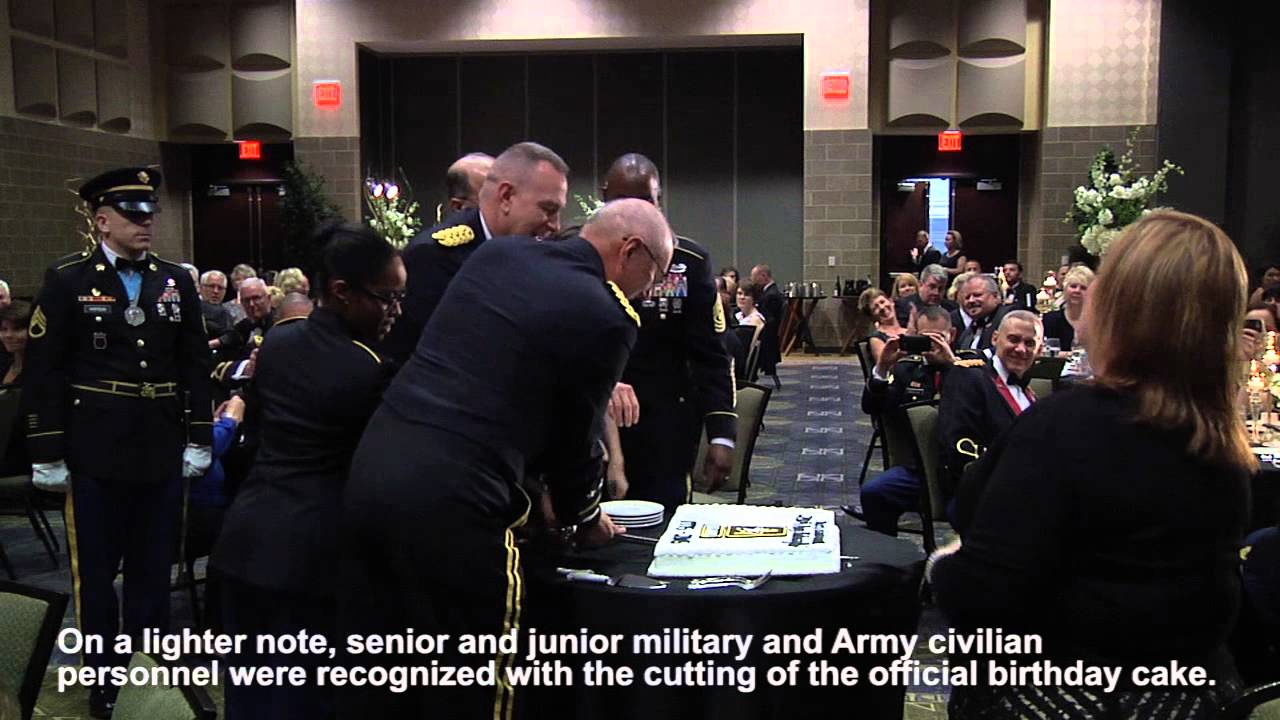 Army Birthday Ball Rock Island Arsenal 2015 YouTube