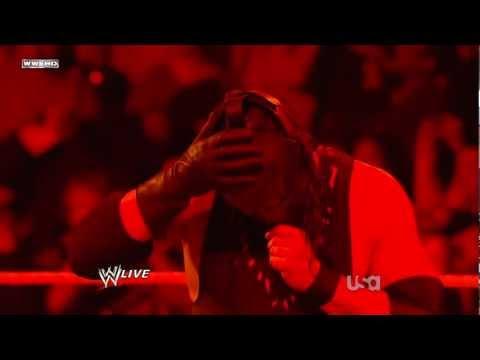 Masked Kane Returns WWE Raw Slammy Awards 12.12.11 [ HD ]