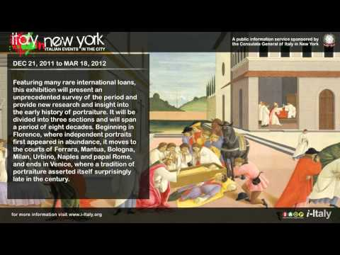 Italy in New York: The Renaissance Portrait  from Donatello to Bellini