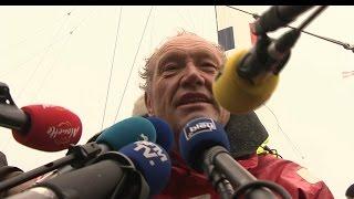"""Francis Joyon se compare à """"l'abruti"""" du Tour du monde en 80 jours de Jules Verne"""