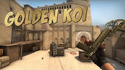 CS:GO - Desert Eagle | Golden Koi Gameplay