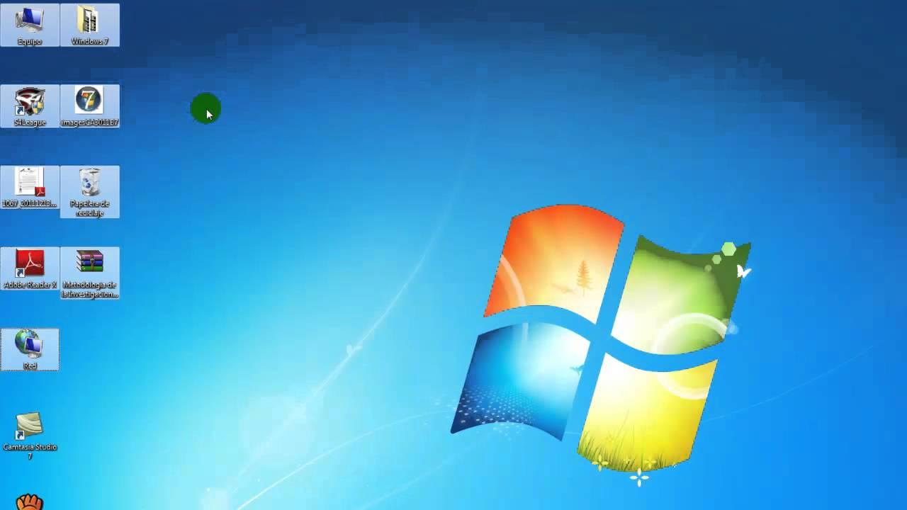 Seleccionar de iconos del escritorio de win7 youtube - Iconos para escritorio windows ...