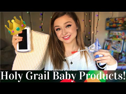 TOP 10 HOLY GRAIL BABY PRODUCTS! 👑👶🏼 Must Have Baby Items 2017