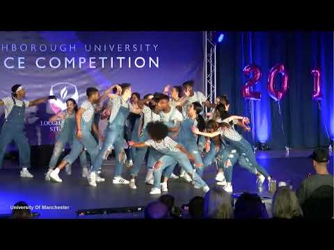 University of Manchester Dance Society Adv Street Hipnotic 2017/18 at Loughborough Dance Comp 2018
