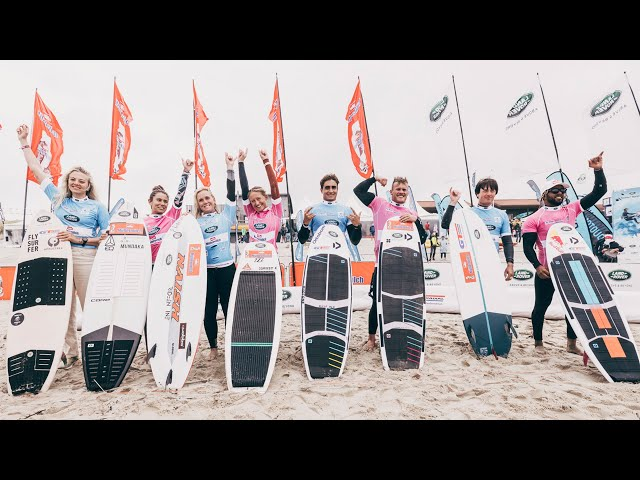 The Grand Finale of the GKA Kite-Surf World Cup Sylt 2021