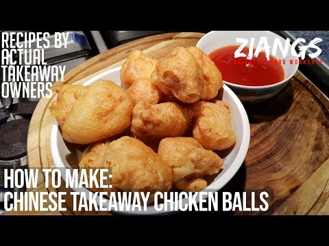 Ziangs: REAL Chinese Takeaway Chicken Ball recipe