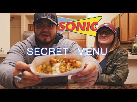 SONIC Secret Menu!?