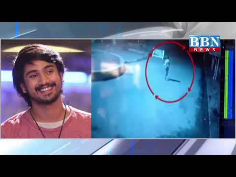 Raj Tarun Tollywood Actor escaped in road accident