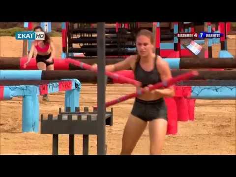 Survivor 2018 | Τα δύο πολύ γρήγορα run της Κατερίνας Δαλάκα letöltés