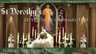 24th Sunday Ordinary Time