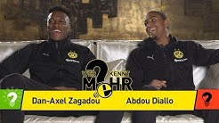 Dan-Axel Zagadou vs. Abdou Diallo | Who knows more? - The BVB-Duel