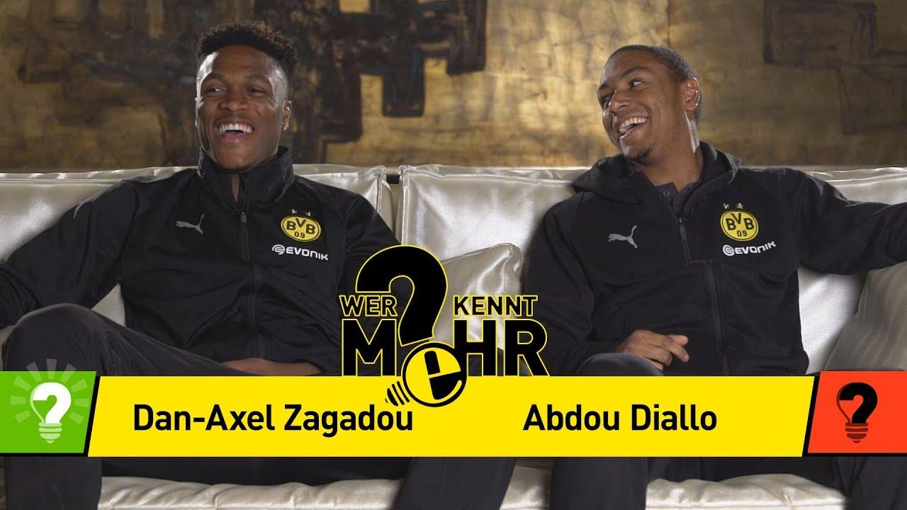 Dan-Axel Zagadou vs. Abdou Diallo | Wer kennt mehr? - Das BVB-Duell