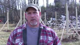 How To Build A Pole Barn Pt 4 - Banding & Bracing For Trusses