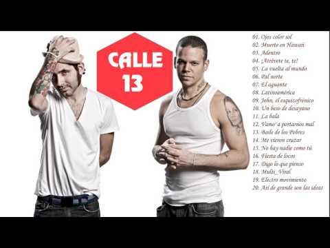 Calle 13 Sus Mejores Canciones Éxitos MIX 2015
